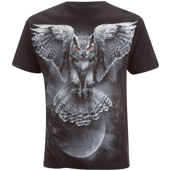 Spiral Men's Wings of Wisdom T-Shirt - Black