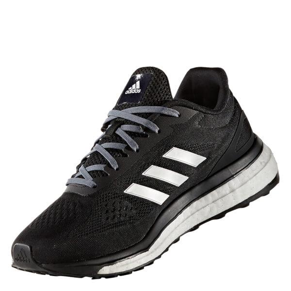 adidas Women's Response LT Running Shoes - Core Black/Silver: Image 3