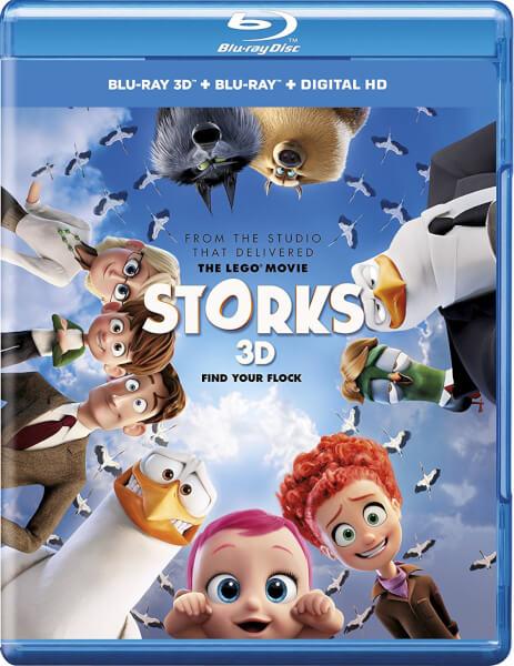 Storks 3D (Includes 2D Version)