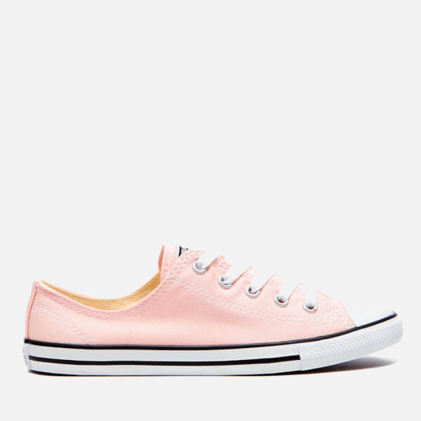 Converse Women's Chuck Taylor All Star Dainty Trainers - Vapor Pink/Black/White