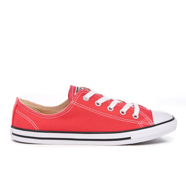Converse Women's Chuck Taylor All Star Dainty Trainers - Ultra Red/Black/White