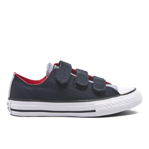 a30ac592a1ccc1 Converse Kids  Chuck Taylor All Star II 3V Ox Trainers - Black Blue Granite