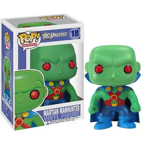 Funko Martian Manhunter Pop! Vinyl