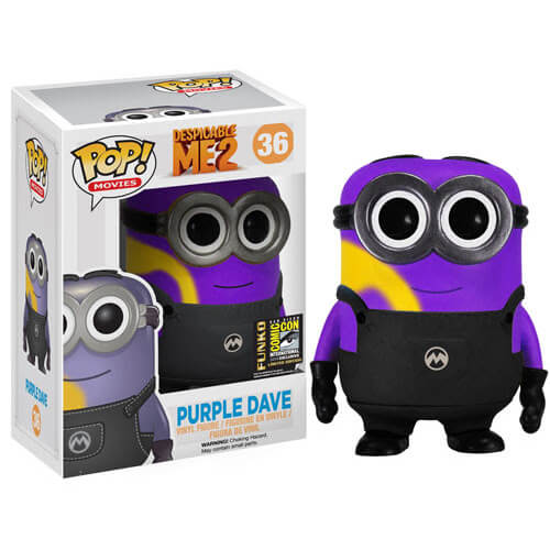 Funko Purple Dave (Yellow Stripe) Pop! Vinyl