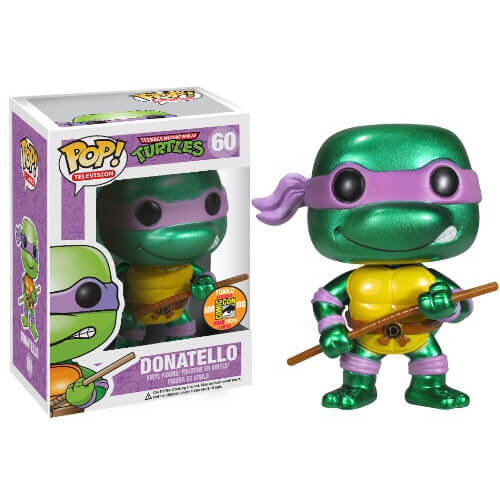 Funko Donatello (Metallic) Pop! Vinyl
