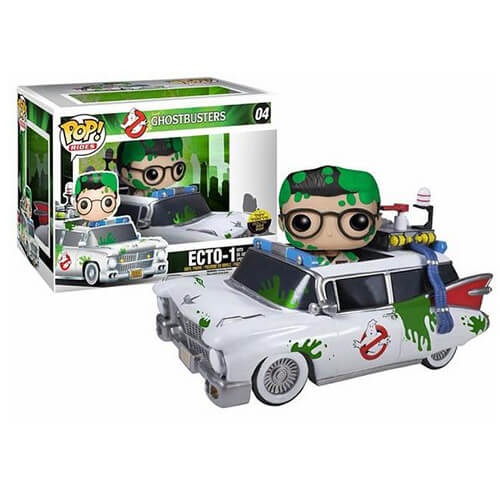 Funko Ecto-1 With Dr. Egon Spengler Pop! Vinyl