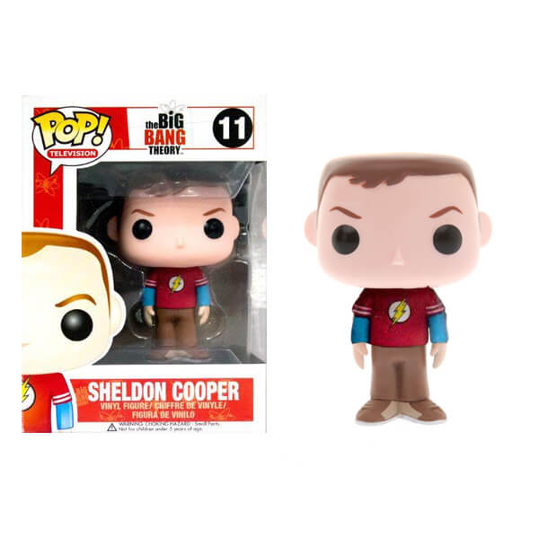 Funko Sheldon Cooper (Flash T-Shirt) Pop! Vinyl