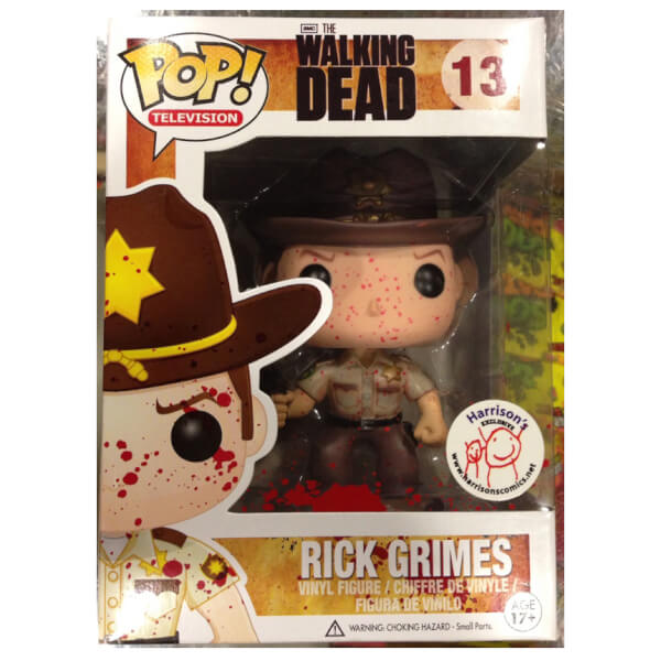 Funko Bloody Rick Grimes Pop! Vinyl