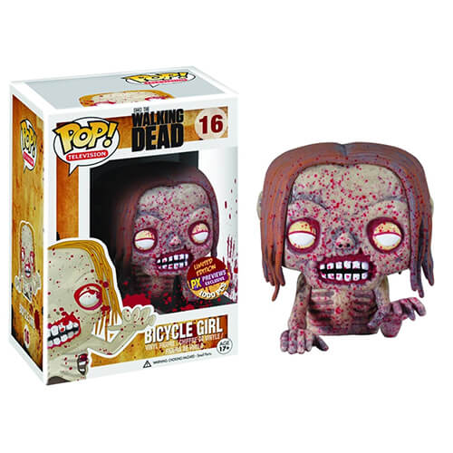 Funko Bloody Bicycle Girl Previews Exclusive Pop! Vinyl