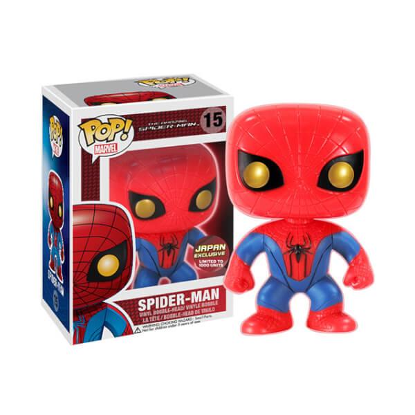 Funko Spider Man Glow Japan Chase Pop Vinyl Pop In A
