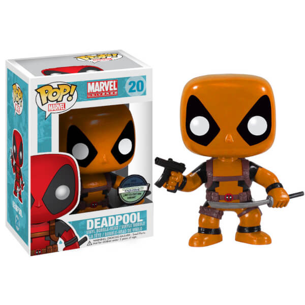 Funko Deadpool (Yellow Megacon Exclusive) Pop! Vinyl
