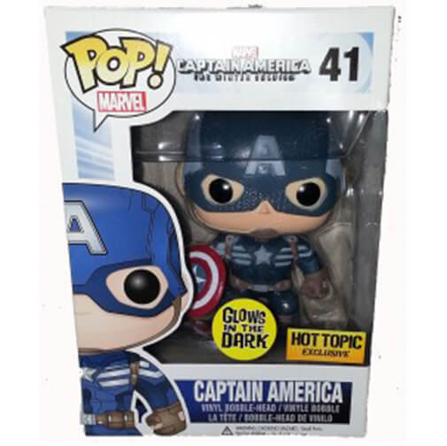 Funko Captain America Glow (Hot Topic) Pop! Vinyl