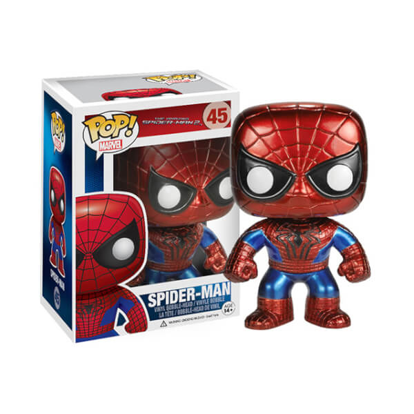Funko Spider-Man Metallic (Japan Exclusive) Pop! Vinyl