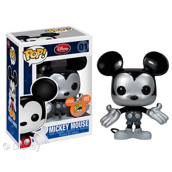 Funko Mickey Mouse Metallic Pop! Vinyl