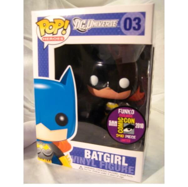 Funko Batgirl Metallic Black Pop!! (SDCC 2010) Pop! Vinyl