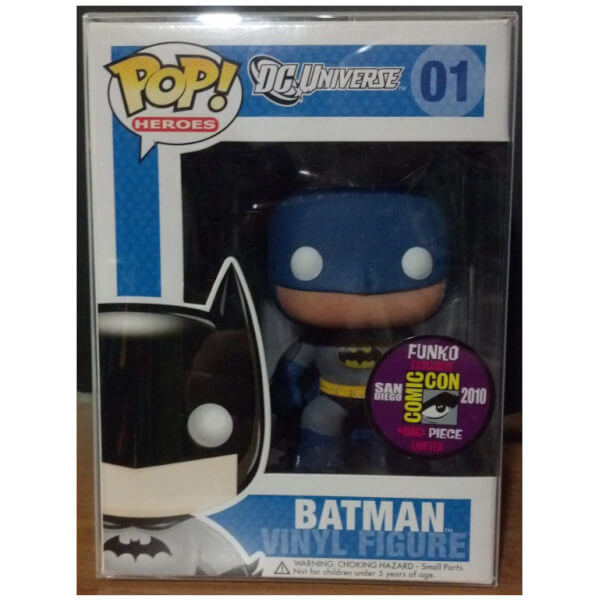 Funko Batman Blue Retro Batman (SDCC 2010) Pop! Vinyl