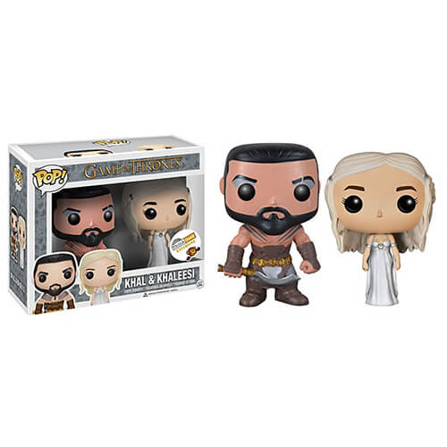 Funko Khal And Khaleesi Pop! Vinyl