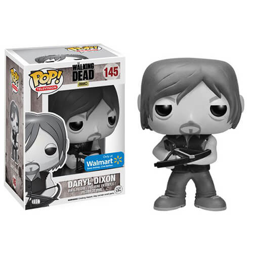 Funko Daryl Dixon Black And White Pop! Vinyl