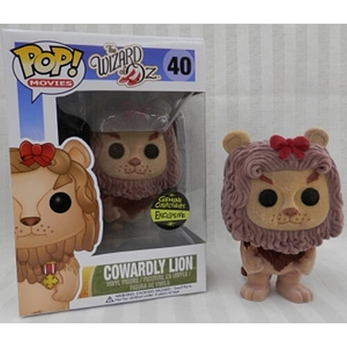 Funko Cowardly Lion (Flocked) Pop! Vinyl