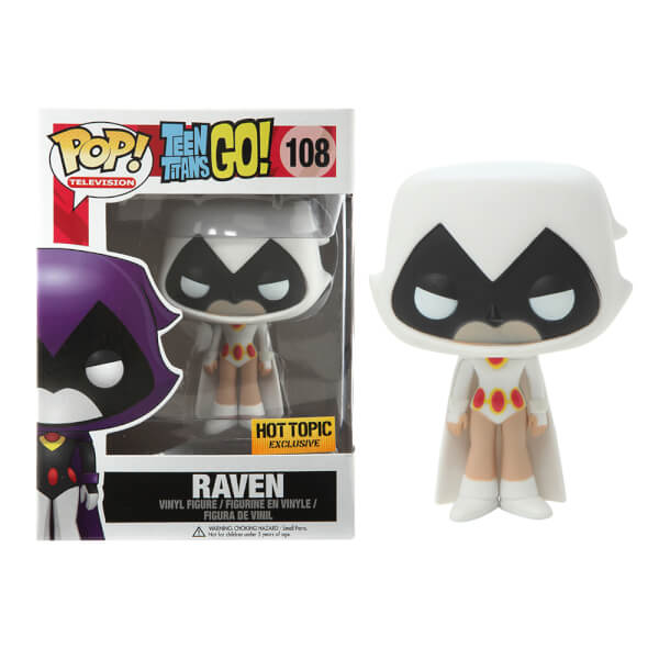 Funko Raven (White) Hot Topic Exclusive Pop! Vinyl