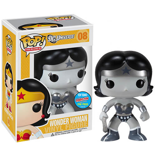 Funko Wonder Women (Black & White) Pop! Vinyl