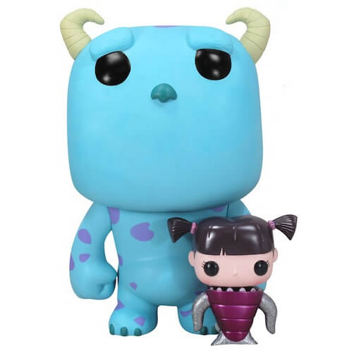 Funko Metallic Boo And 9Inch Sulley Pop! Vinyl