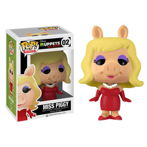 Funko Miss Piggy (Muppets Most Wanted Box) Pop! Vinyl