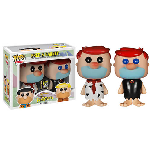 Funko Fred And Barney Red Hair Set (Sold Out) Pop! Vinyl