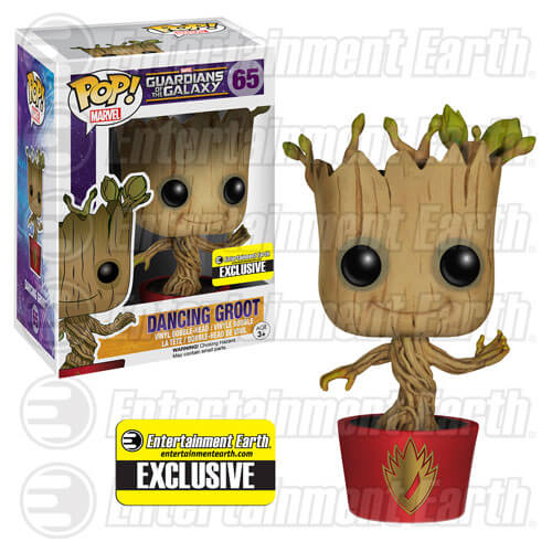 Funko Pot Sticker Damaged Ravagers Dancing Groot Pop! Vinyl