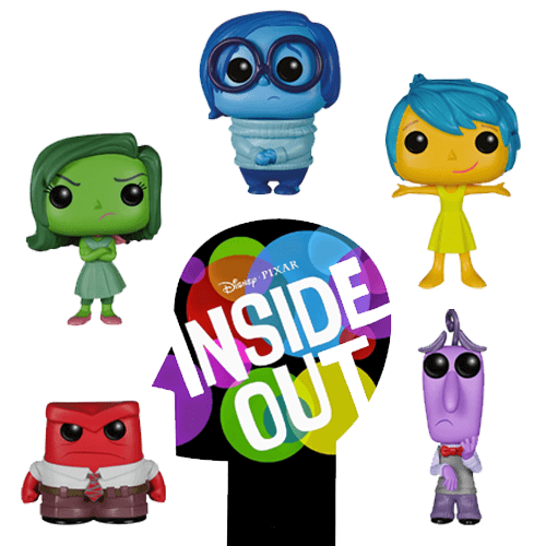 Funko Inside Out Set Pop! Vinyl