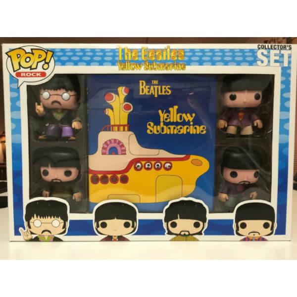 Funko The Beatles Yellow Submarine Set Pop Vinyl Pop In