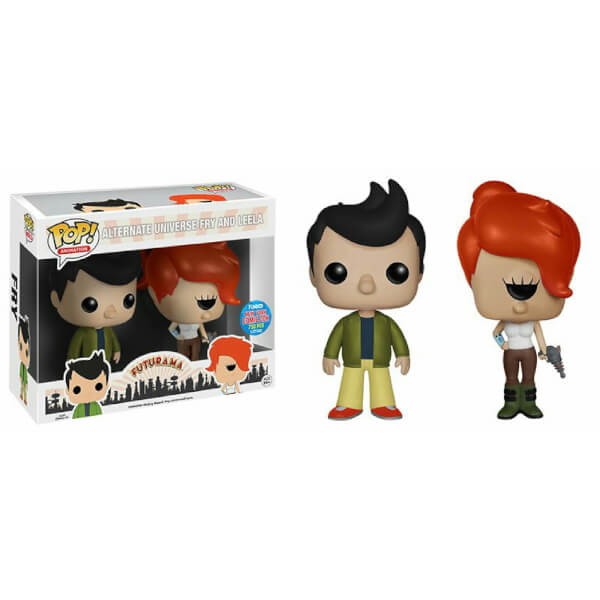 Funko Alternate Universe Fry & Leela 2 Pack Pop! Vinyl