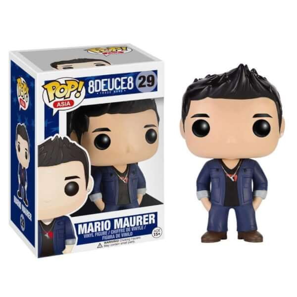 Funko Mario Maurer (Black Shirt) Pop! Vinyl