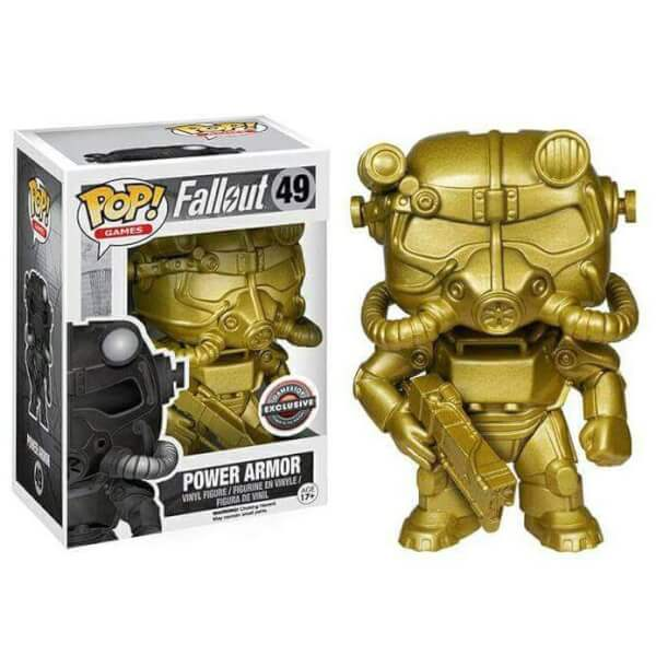 Funko Power Armour (Gold) Pop! Vinyl