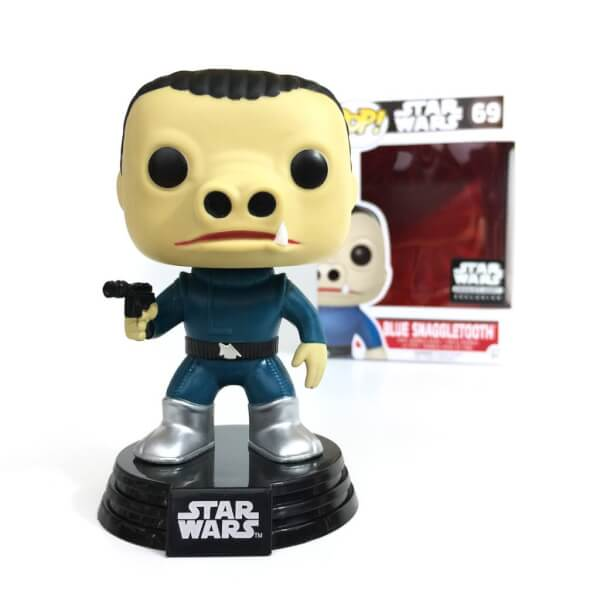 Funko Blue Snaggletooth (Smugglers Bounty Exclusive) Pop! Vinyl