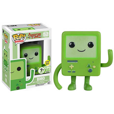 Funko Green Bmo (Glows In The Dark) Pop! Vinyl