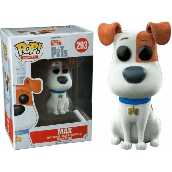 Funko Max (Flocked) Pop! Vinyl