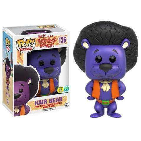 Funko Hair Bear (Purple) Pop! Vinyl