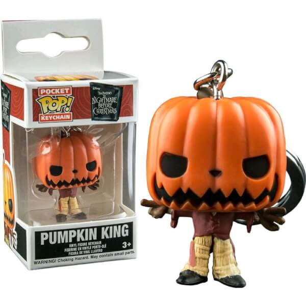 Funko Pumpkin King Pop! Keychain
