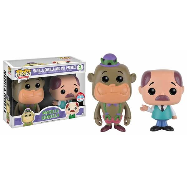 Funko Magilla Gorilla And Mr Peebles (2-Pack) Pop! Vinyl