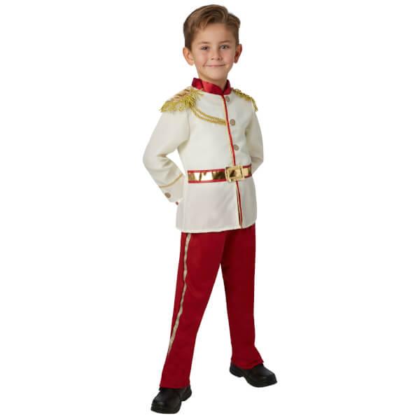Disney Boys' Prince Charming Fancy Dress Costume