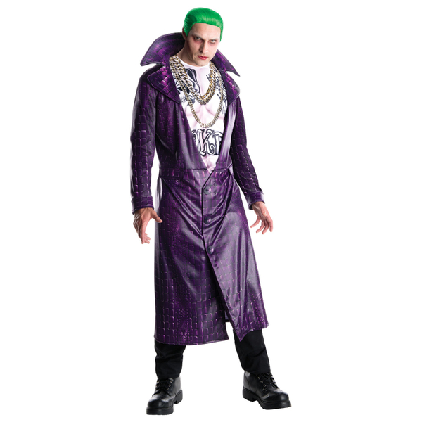 DC Comics Men's The Joker Fancy Dress Costume