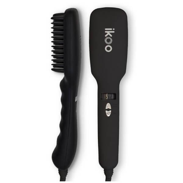 ikoo E-Styler Hair Straightening Brush - Beluga Black