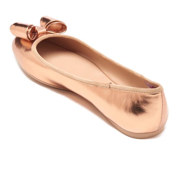 fc0eff8691e704 Ted Baker Women s Immet Ballet Flats - Rose Gold  Image 4