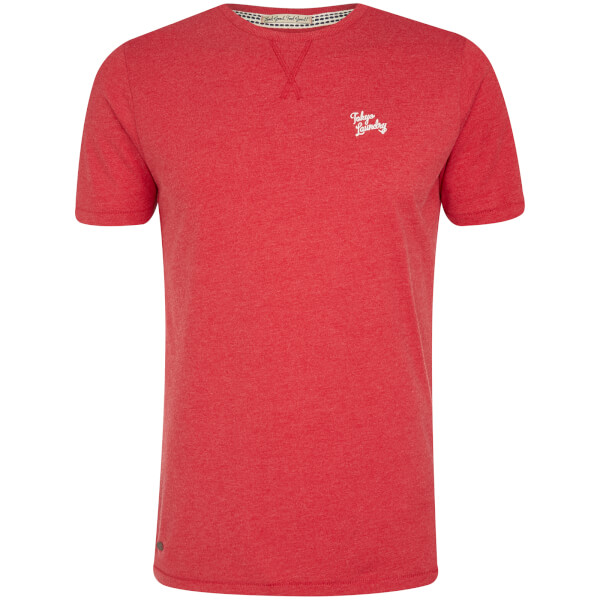 T-Shirt Homme Essential Col Rond Tokyo Laundry - Rouge Tokyo