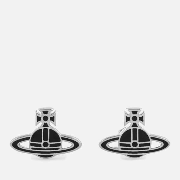 Vivienne Westwood Women's Kate Earrings - Black/Palladium