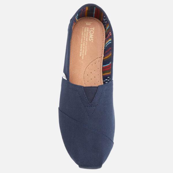 3cc8a92b44c TOMS Men s Core Classics Slip-On Pumps - Navy Canvas Mens Footwear ...