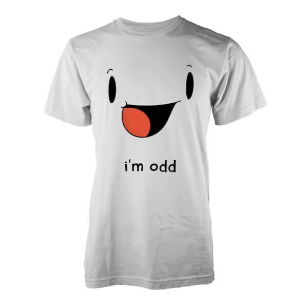 T-Shirt I'm Odd - Blanc