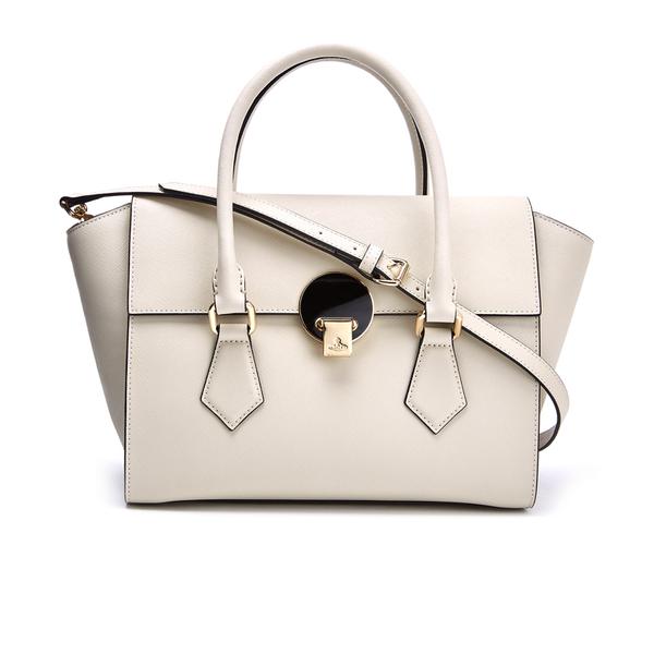 acb351b84a Vivienne Westwood Women's Opio Saffiano Leather Handbag - Beige: Image 1
