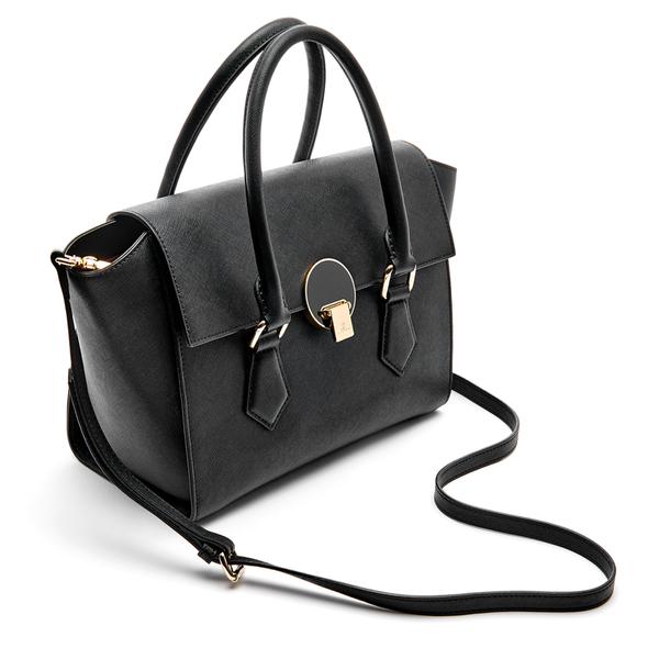 1b51ea627c Vivienne Westwood Women's Opio Saffiano Leather Handbag - Black: Image 3